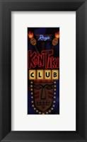 Framed Kon Tiki Club