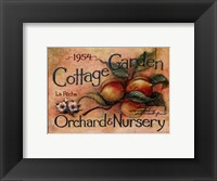 Framed Cottage Garden IV