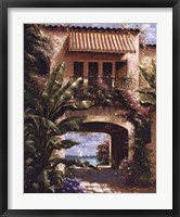 Framed Tropical Villa I