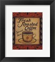 Framed Fresh Roasted Coffee