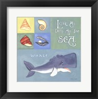 Love As Deep As The Sea Framed Print