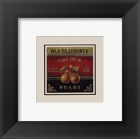 Framed Golden Pears - Special