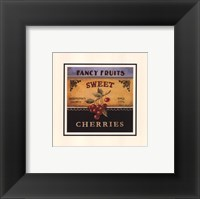Sweet Cherries - Special Framed Print