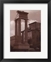 Ancient Building Framed Print