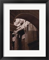 Ancient Building With Archway Framed Print