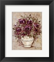 Framed Lavender Blossoms l