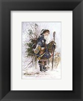 Woodland Animal Keeper Framed Print