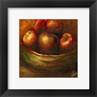Framed Rustic Fruit III