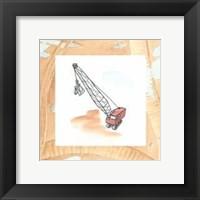 Framed Charlie's Crane