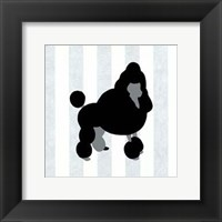 Framed Poodle In Neutral