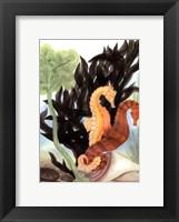 Framed Seahorse Serenade I