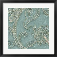 Tiffany Lace I Framed Print