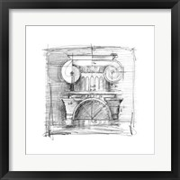 Drafting Elements I Framed Print