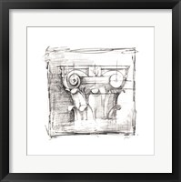 Drafting Elements III Framed Print