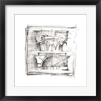 Drafting Elements IV Framed Print