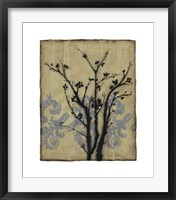Branch In Silhouette II Framed Print