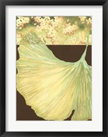Filigree Ginkgo I Framed Print