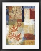 Framed Waltzing Leaves