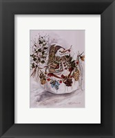 Christmas Mitts Framed Print
