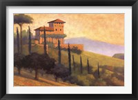 Villa D'or I Framed Print