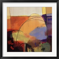 Abstract Dance I Framed Print