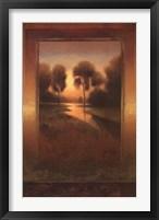 Framed Golden Horizon I