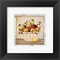 Framed Fruit Bowl III