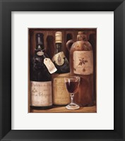 Framed Wine Cabinet IV