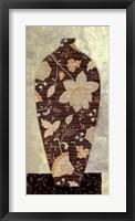 Framed Paisley Vase I