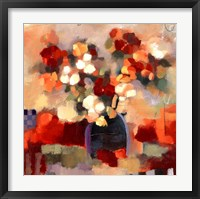 Framed Floral Study II