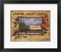 Framed Camper Sweet Camper