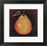 Yellow Pear Framed Print