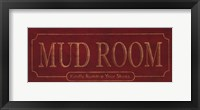 Framed Mud Room