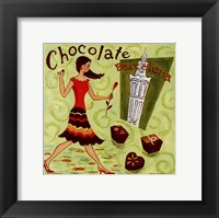 Spanish Chocolate Framed Print
