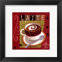 Framed Italian Latte