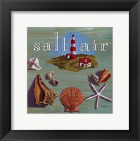 Salt Air Framed Print
