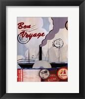 Bon Voyage II Framed Print
