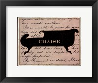 Chaise Framed Print