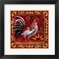 Framed Il Gallo I