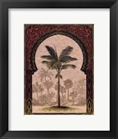 Moorish Palms I Framed Print