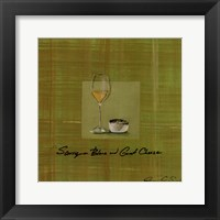 Wine Cheese II Framed Print