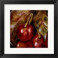 Framed Sweet Cherries II