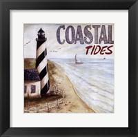 Framed Coastal Tides