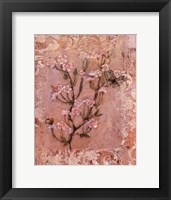Framed Butterflies And Blossoms I