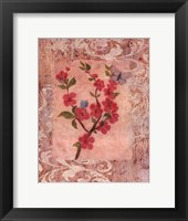 Butterflies And Blossoms IV Framed Print