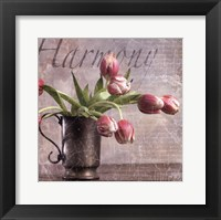Framed Dutch Tulips II
