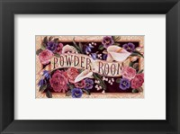 Framed Powder Room