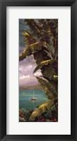 Palm Cove II Framed Print