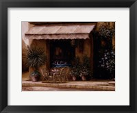 Framed Toscana Cafe