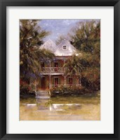 Keywest Cottage I Framed Print